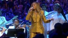 Beyoncé Sang One of Kobe Bryant's Favorite Songs at His and Gigi's Memorial