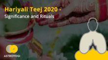 Hariyali Teej 2020 - Significance and Rituals