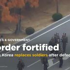 North Korea replaces soldiers, South Korea awards medals after defector's border dash