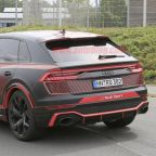 Audi RS Q8 spied nearly undisguised
