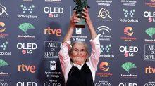 """""""No se olviden de la yaya"""", Benedicta Sánchez se corona como la abuela de España al ganar el Goya a los 84 años"""