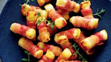 You can feast on halloumi wrapped in bacon this Christmas all thanks to Aldi