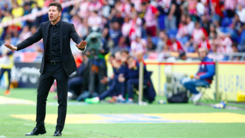 Simeone: I don't get tired of praising Atletico players