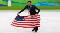 Evan Lysacek on Tonya Harding, Nancy Kerrigan, and the NBA legend who inspired his Olympic pursuit