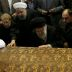 Huge crowd bids farewell to Iranian ex-president who fell out with supreme leader