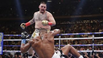 Andy Ruiz not happy about fight in Saudi Arabia