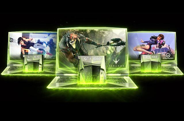NVIDIA brings desktop-class graphics to laptops