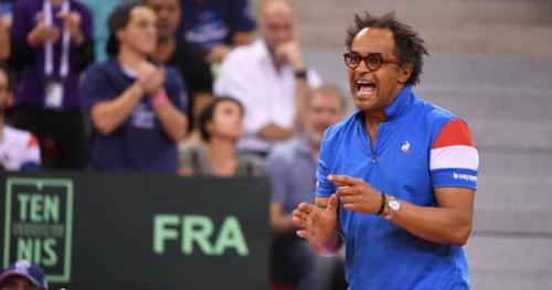 Coupe Davis - Yannick Noah : «On peut encore avoir la chair de poule»