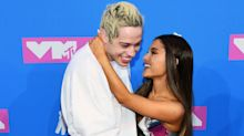 Ariana Grande and Pete Davidson Are All Loved Up at the 2018 VMAs