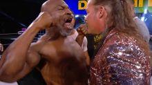 Mike Tyson löst Mega-Prügelei beim Wrestling aus