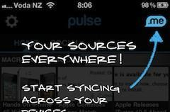 Pulse News updated with source syncing