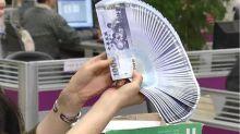 新台幣開貶轉升強漲近3角 升破28.6元進逼彭淮南防線