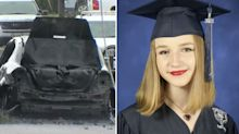 Teen electrocuted to death while trying to escape burning car