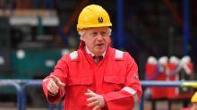 Boris Johnson visits shipyards