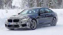 BMW M5 restyling, la berlina sportiva è in arrivo