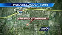 Husband charged in murder-attempted suicide case