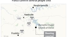The Latest: Church pastor among those wounded in shooting