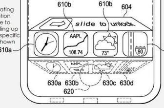 Apple files patent for app access on lockscreen