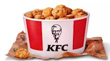 KFC's 80-piece bucket of popcorn chicken is back – and you can get it for £2.99