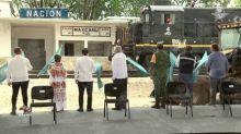 Sin Sana Distancia, AMLO da banderazo de inicio de obra a tramo 3 del Tren Maya