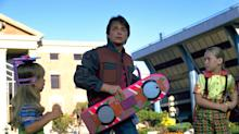 Want a 'Back to the Future' Hoverboard? All You Need Is $10,000 and a Metal Sidewalk