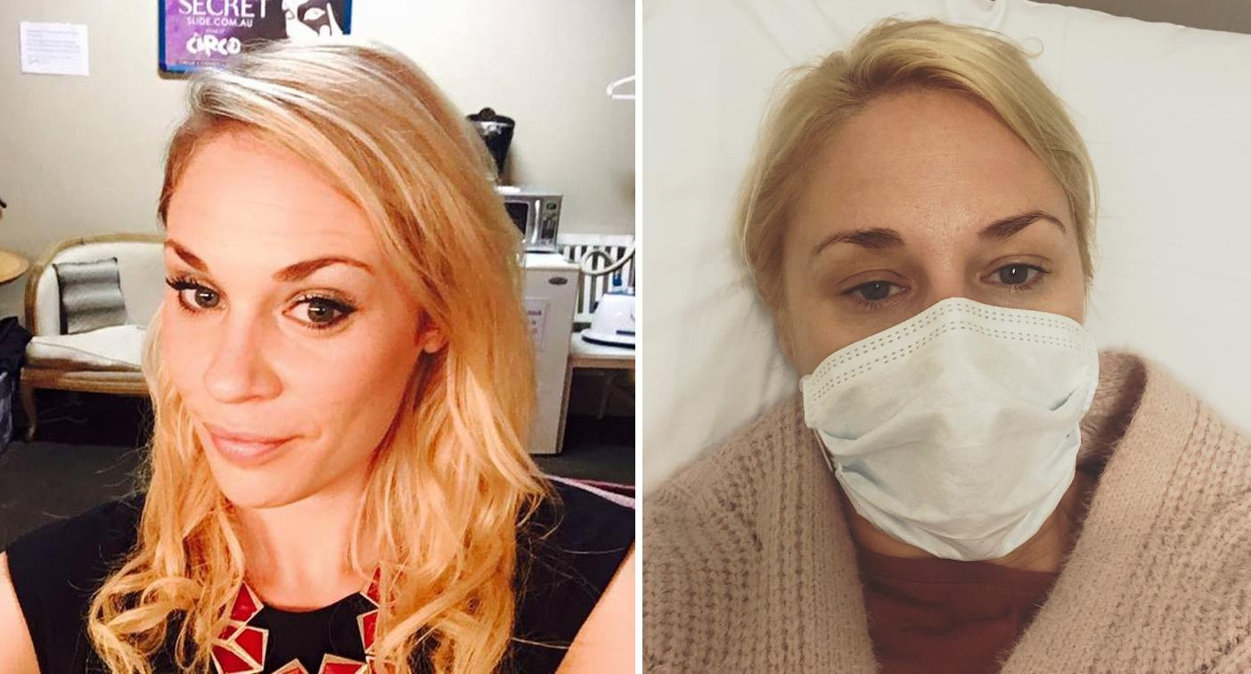 Young mum's powerful message after contracting coronavirus on a date