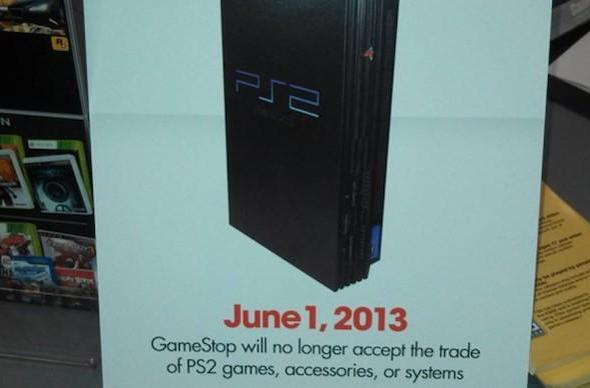 GameStop confirms June 1 end to PlayStation 2 trade-ins, will continue selling used stock 'for several months'