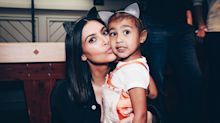 Kim Kardashian shares realities of having four children in rare photo of entire family