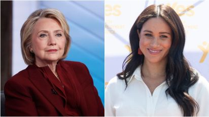 Race may be behind Markle treatment: Clinton