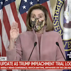 Pelosi rejects idea of dropping Trump impeachment to 'unify' country