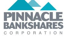 Pinnace Bankshares Corporation Announces Cash Dividend
