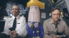Airplane!'s Ted Striker and Roger Murdock reunite for spoof ad