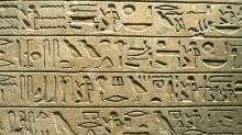 Google usa inteligência artificial para traduzir hieróglifos egípcios