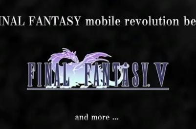 Final Fantasy IV iOS trailer reveals Final Fantasy V plan