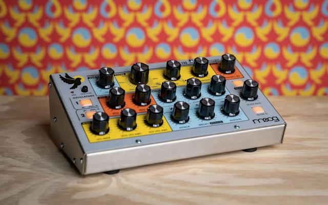 Moog's Sirin is an analog bass synth capable of soaring leads