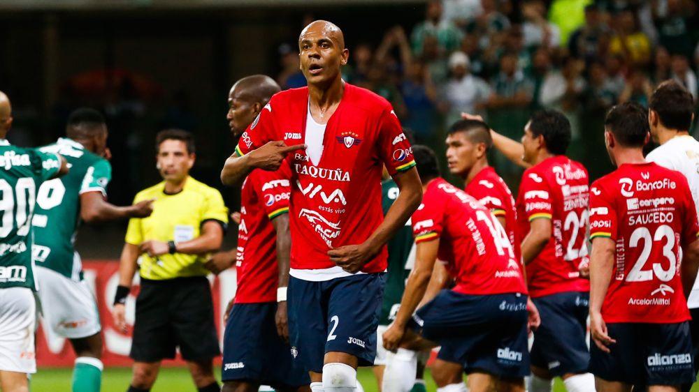 Alex Silva Palmeiras Jorge Wilstermann Copa Libertadores 15032017
