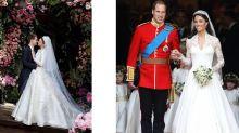 王妃同款不一定要數十萬!向凱特王妃、梅根王妃的婚紗取靈感!