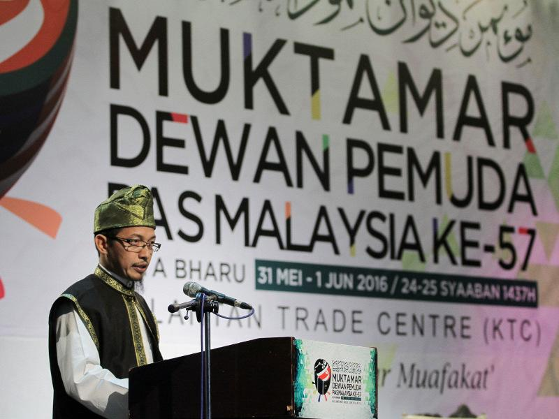 Amanah founders 'drunk' on DAP love, PAS Youth chief claims