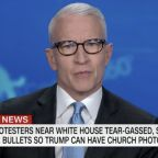 "Anderson Cooper Tears Into Donald Trump's ""Law And Order"" Approach To Protesters: ""He Calls Them Thugs. Who Is The Thug Here?"""