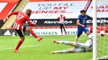 Sheffield United 3-0 Chelsea: McGoldrick double deals Blues Champions League blow