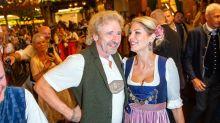 Thomas Gottschalk mit neuer Freundin auf dem Oktoberfest