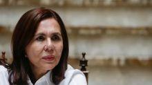 """Karen Longaric: """"Este es un gobierno heroico que está enfrentando un asedio"""""""