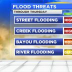 Flash flood threat increasing through Thursday