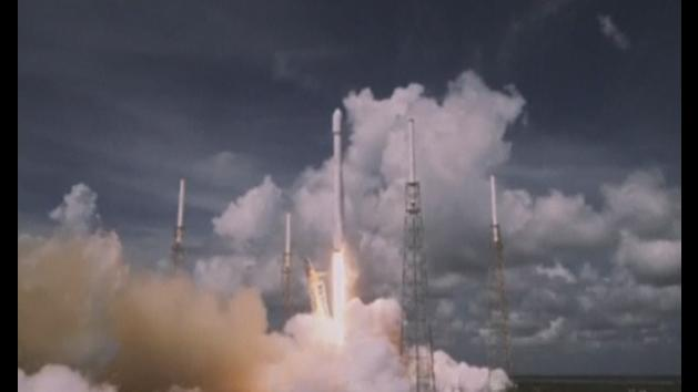 SpaceX Falcon 9 rocket blasts off from Florida
