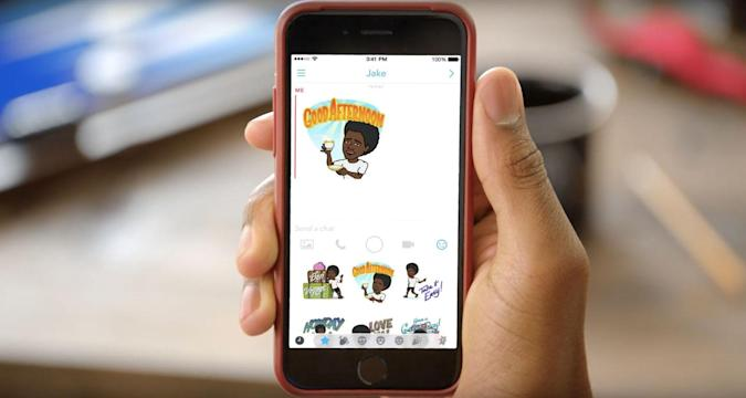 Snapchat debuts 'Bitmoji' stickers for your messages