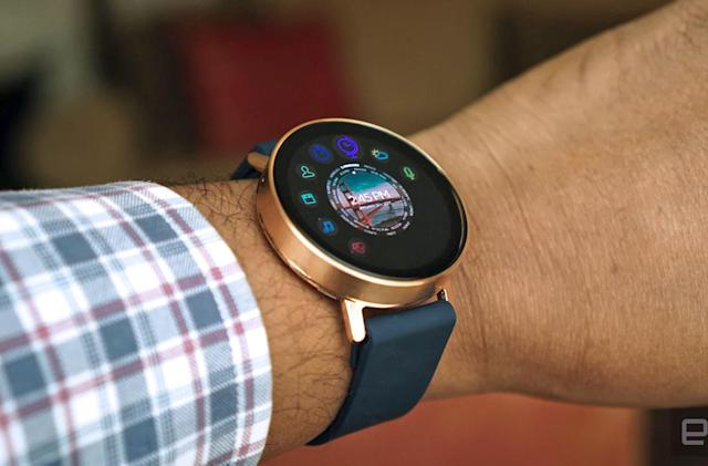 Vapor is Misfit's first touchscreen smartwatch