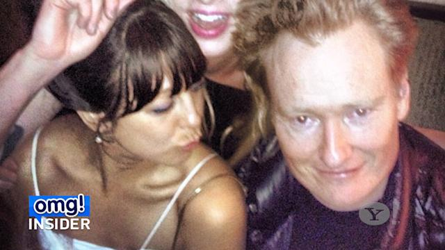 Conan O'Brien Is a Real-Life 'Wedding Crasher'