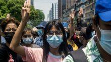 Yangon protests press ASEAN ahead of summit with junta leader
