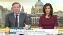 Piers Morgan compares Liam Neeson's 'so racist' comments to the KKK