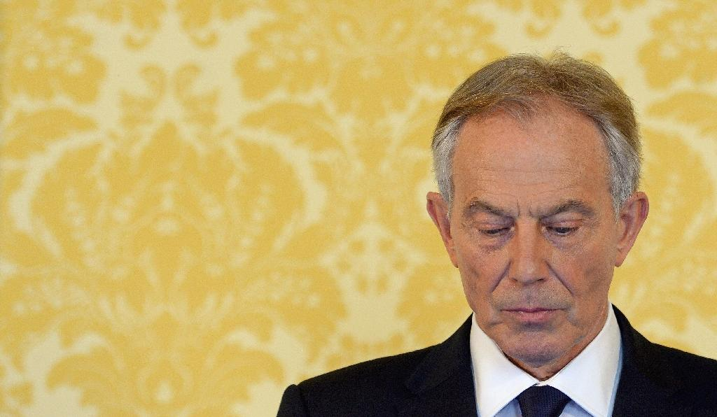 """Former prime minister Tony Blair said he had """"more sorrow, regret and apology than you may ever know or can believe"""" for mistakes in the planning of the Iraq war (AFP Photo/Stefan Rousseau)"""